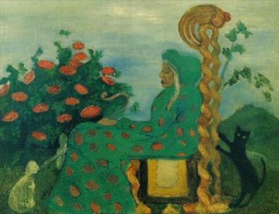 "Paula Modersohn-Becker. ""The Fairytale Witch"". 1901."