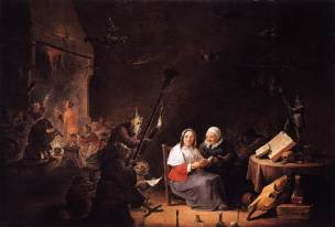 David Teniers the Younger, 'Witches' Initiation'