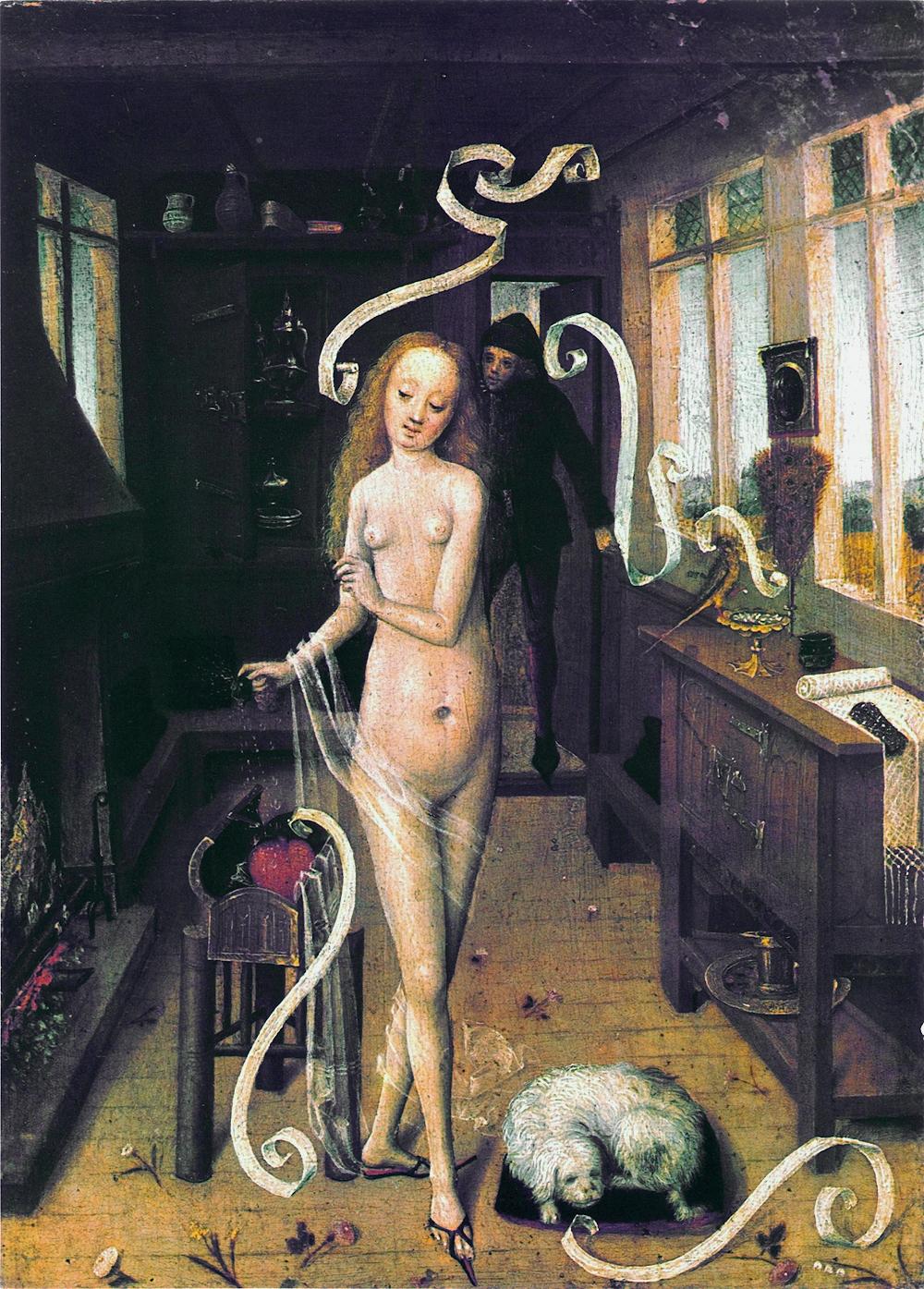 Master of the Lower Rhine, 'The Lovespell', 1470-80