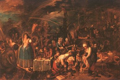 "Frans Francken II, ""Witche's Gathering"", Ca. 1607"
