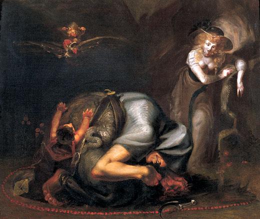 Johann Heinrich Füssli, 'The Mandrake: A Charm'