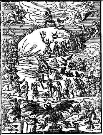 """Johannes Praetorius, """"Blocksbergs Verrichtung"""", 1668"""