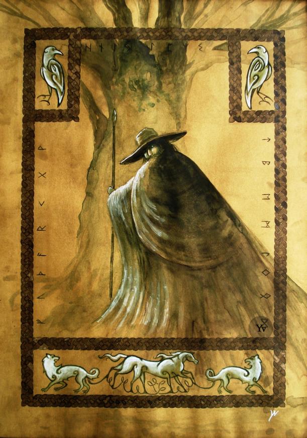 odin wodan norse mythology