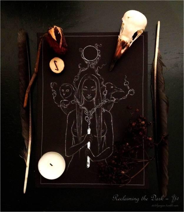 dark ritual rune darkness