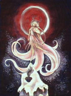 fantasy snow maiden