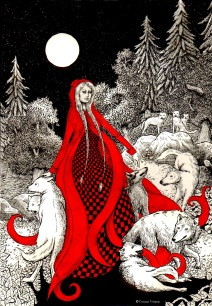 red riding hood wolves
