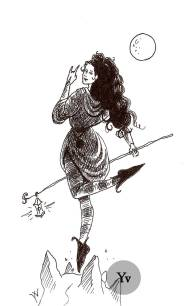 witch hermit fantasy girl